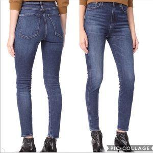 Agolde Roxanne high rise skinny jeans